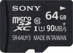 Sony MicroSDHC 64GB Class 10 SR64UY3