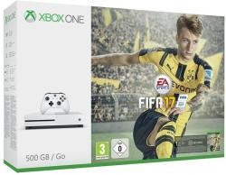 Microsoft Xbox One S (Slim) 500GB + FIFA 17