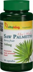 Vitaking Saw Palmetto 540mg Extract de palmier pitic - 90 comprimate
