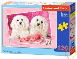 Castorland Kutyák rózsaszínben 120 db-os (B-13128)