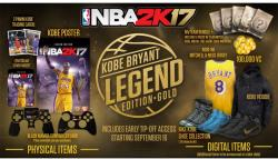 2K Games NBA 2K17 [Legend Edition Gold] (PC)