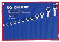 KING TONY Racsnis csillag-villáskulcs készlet 12db (12112MR)