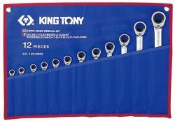 KING TONY Racsnis csillag-villáskulcs készlet 12db (12212MR)