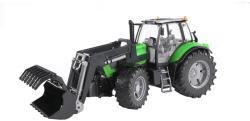 BRUDER Tractor Deutz Agrotron X720 cu incarcator (3081)
