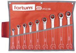 Fortum Racsnis csillag-villáskulcs készlet 9db 8-19mm (4720104)