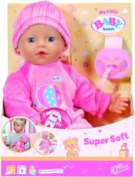 Zapf Creation My little Baby Born - Bebelus Catifelat (822524)