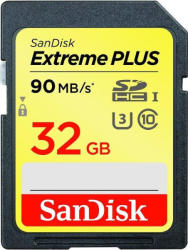 SanDisk SDHC Extreme Plus 32GB Class 10 SDSDXSF-032G-GNCIN