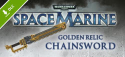 THQ Warhammer 40,000 Space Marine Golden Relic Chainsword DLC (PC)