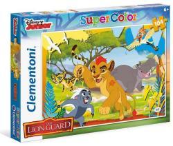 Clementoni Oroszlánkirály: Az oroszlán őrség 100 db-os (07251)