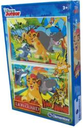 Clementoni Oroszlánkirály: Az oroszlán őrség 2x20 db-os (07025)