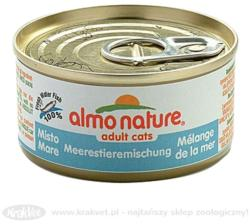 Almo Nature Adult Sea Food Tin 24x70g