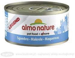 Almo Nature Legend Mackerel Tin 24x70g