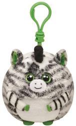 TY Inc Beanie Ballz Clip - Oasis, a zebra 8,5cm (TY38340)