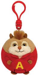 TY Inc Beanie Ballz Clip - Alvin és a mókusok: Alvin 8,5cm (TY38347)