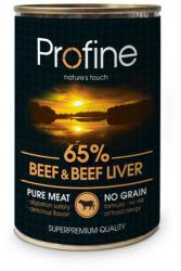 Profine Beef & Beef Liver 400g