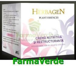 Herbagen - Genmar Cosmetics Crema Nutritiva si Restructuranta cu Fitoceramide si Avocado - farmaverde - 21,90 RON