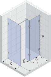 RIHO SCANDIC S405 85x180 cm (GC94200)