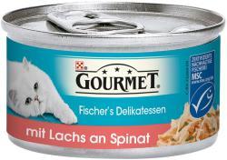 Gourmet Diamant Salmon & Spinach 12x85g