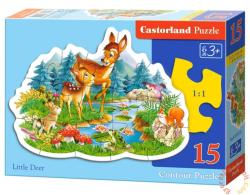 Castorland A kis őzike 15 db-os sziluett puzzle (B-015115)