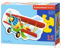 Castorland Vidám repülő 15 db-os sziluett puzzle (B-015092)