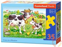 Castorland Bocik a legelőn  35 db-os (B-035090)