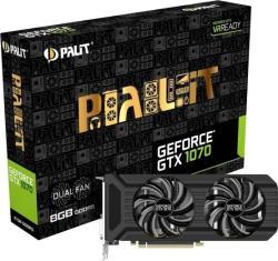 Palit GeForce GTX 1070 Dual 8GB GDDR5 256bit PCIe (NE51070015P2-1043D)