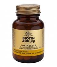Solgar Biotin 300mg - 100 comprimate