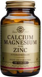 Solgar Calcium Magnesium+Zinc - 100 comprimate