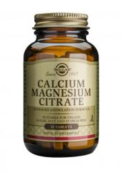 Solgar Calcium Magnesium Citrate - 50 comprimate