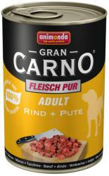 Animonda GranCarno Adult - Beef & Turkey 6x400g