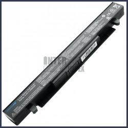 ASUS X550J 4400 mAh 8 cella fekete notebook/laptop akku/akkumulátor utángyártott