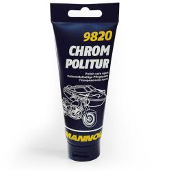 MANNOL Chrom Politur - krómtisztító paszta 100ml (9820)