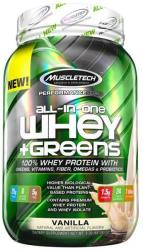 Muscletech All-in-One Whey+Greens - 908g