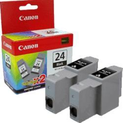 Canon BCI-24BK Twin