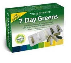 Young pHorever 7-Day Greens kapszula - 7x5 db