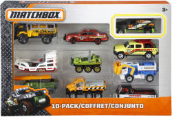 Mattel Matchbox - Set 10 masinute Pack 2 (DKB74)