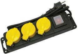 Extol 3 Plug 1,5m Switch (84845)