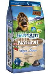 Happy&Fit Natural Welpen Lamm/Lamb 12kg