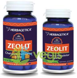 Herbagetica Zeolit - 60 comprimate