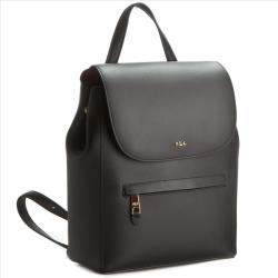 Lauren Ralph Lauren Hátizsák LAUREN RALPH LAUREN - Ellen Backpack N91 XZ0BI XY0BI XW0DF Black/Crimson
