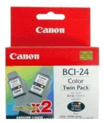 Canon BCI-24C Twin