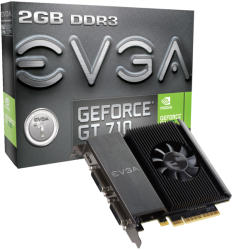 EVGA GeForce GT 710 2GB GDDR3 64bit PCIe (02G-P3-2717-KR)