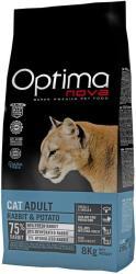 Optimanova Cat Adult Rabbit Grain-Free 8kg