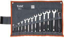 Extol Premium csillag-villáskulcs készlet 13db 6-22mm (6733)