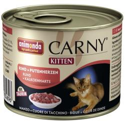 Animonda Carny Kitten Beef & Turkey Heart 400g
