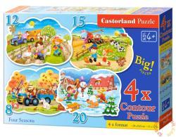 Castorland Négy évszak 4 az 1-ben puzzle (B-043019)