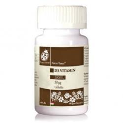Natur Tanya D3-vitamin 2000 NE tabletta - 100 db
