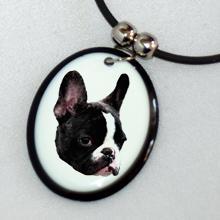 Bol-Dog. hu - Nyaklánc francia bulldog képpel