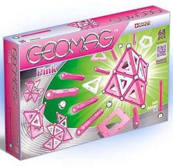 Geomag Pink rózsaszín készlet lányoknak - 68db