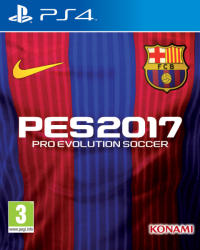 Konami PES 2017 Pro Evolution Soccer [FC Barcelona Edition] (PS4)